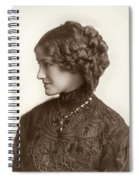 Hairstyle, C1900 Spiral Notebook