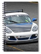 Hairy Dog Garrrage - Porsche - Pit Lane Spiral Notebook