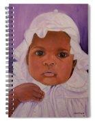 Haitian Baby Orphan Spiral Notebook