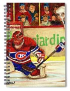 Halak Makes Another Save Spiral Notebook