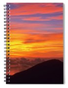 Haleakala Sunrise Colors IIi Spiral Notebook