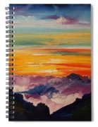 Haleakala Volcano Sunrise In Maui      101 Spiral Notebook