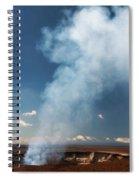 Halemaumau Crater 2016 Spiral Notebook