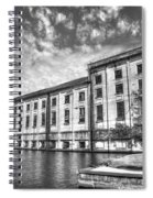 Hales Bar Dam B W Tennessee Valley Authority Tennessee River Art Spiral Notebook