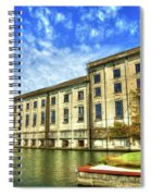 Hales Bar Dam Tennessee Valley Authority Tennessee River Art Spiral Notebook