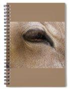 Half Asleep Spiral Notebook