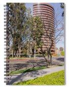 Half Circle Building Spiral Notebook