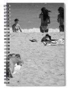 Half Dead Half Alive Spiral Notebook