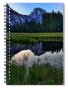 Half Dome At Sunrise Spiral Notebook