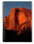 Half Dome From Sentinel Drive Bridge Spiral Notebook
