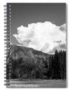Half-dome Spiral Notebook