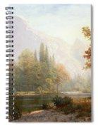 Half Dome Yosemite Spiral Notebook