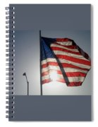 Half Mast Flag Honoring President Ronald Reagan Number 2 Casa Grande Arizona June 2004 Spiral Notebook