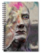 Half Mind/half Blind Spiral Notebook