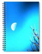 Half Moon Spiral Notebook