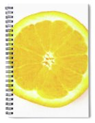 Half The Orange Spiral Notebook