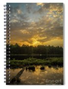 Haliburton Sunrise Spiral Notebook