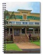 Haliimaile General Store Spiral Notebook