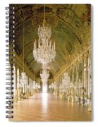 Hall Of Mirrors  The Galerie Des Glaces Spiral Notebook