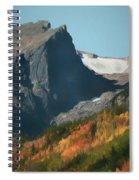 Hallett Peak Fall Colors Spiral Notebook