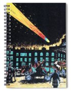Halleys Comet, 1910 Spiral Notebook