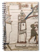 Halleys Comet Of 1066, Bayeux Tapestry Spiral Notebook