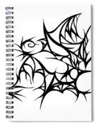 Hallow Web Spiral Notebook
