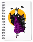 Halloween Batgirl Spiral Notebook