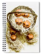 Halloween Food Decoration Spiral Notebook