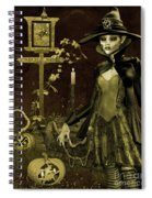 Halloween Graveyard-c Spiral Notebook