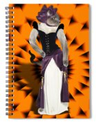 Halloween Hussy Spiral Notebook