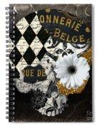 Halloween In Paris Spiral Notebook