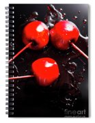 Halloween Toffee Apples Spiral Notebook