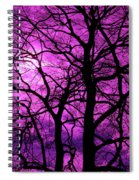 Halloween Trees No 3 By Dm Carpenter Spiral Notebook