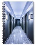 Halls Of Mystery Spiral Notebook