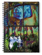 Hallucinatory Rawness Spiral Notebook