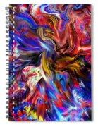 Halos And Passions. Spiral Notebook