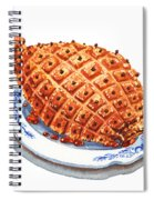 Ham On The Plate Spiral Notebook