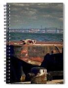 Hamilton Harbor- Pier 8 Spiral Notebook