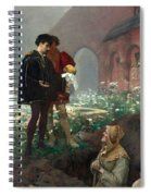 Hamlet And The Gravediggers Spiral Notebook