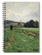Hammewiesen With Pond Mountain Spiral Notebook