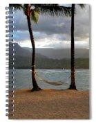 Hammock At Hanalei Bay Spiral Notebook
