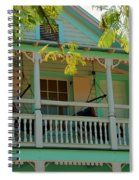 Hammocks In Paradise Spiral Notebook