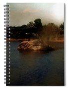 Hammonasset Sunset Spiral Notebook