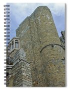 Hammond Castle Detail - Gloucester Ma Spiral Notebook