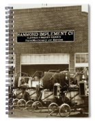 Hammond Implement Company Farm Machinery 1924 Spiral Notebook