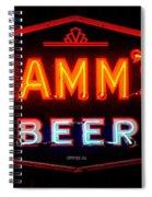 Hamm's Beer Spiral Notebook