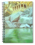 Hampi On Tungabadra 2 Spiral Notebook