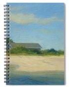 Hamptons Beach House Spiral Notebook