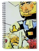 Han Solo Saves The Girl Spiral Notebook